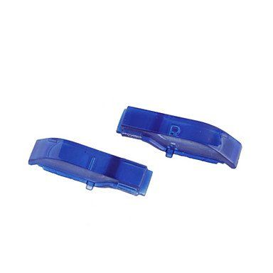NEWReplacement L  R Shoulder Buttons for PSP Slim2000 Blue >>> Want additional info? Click on the image.