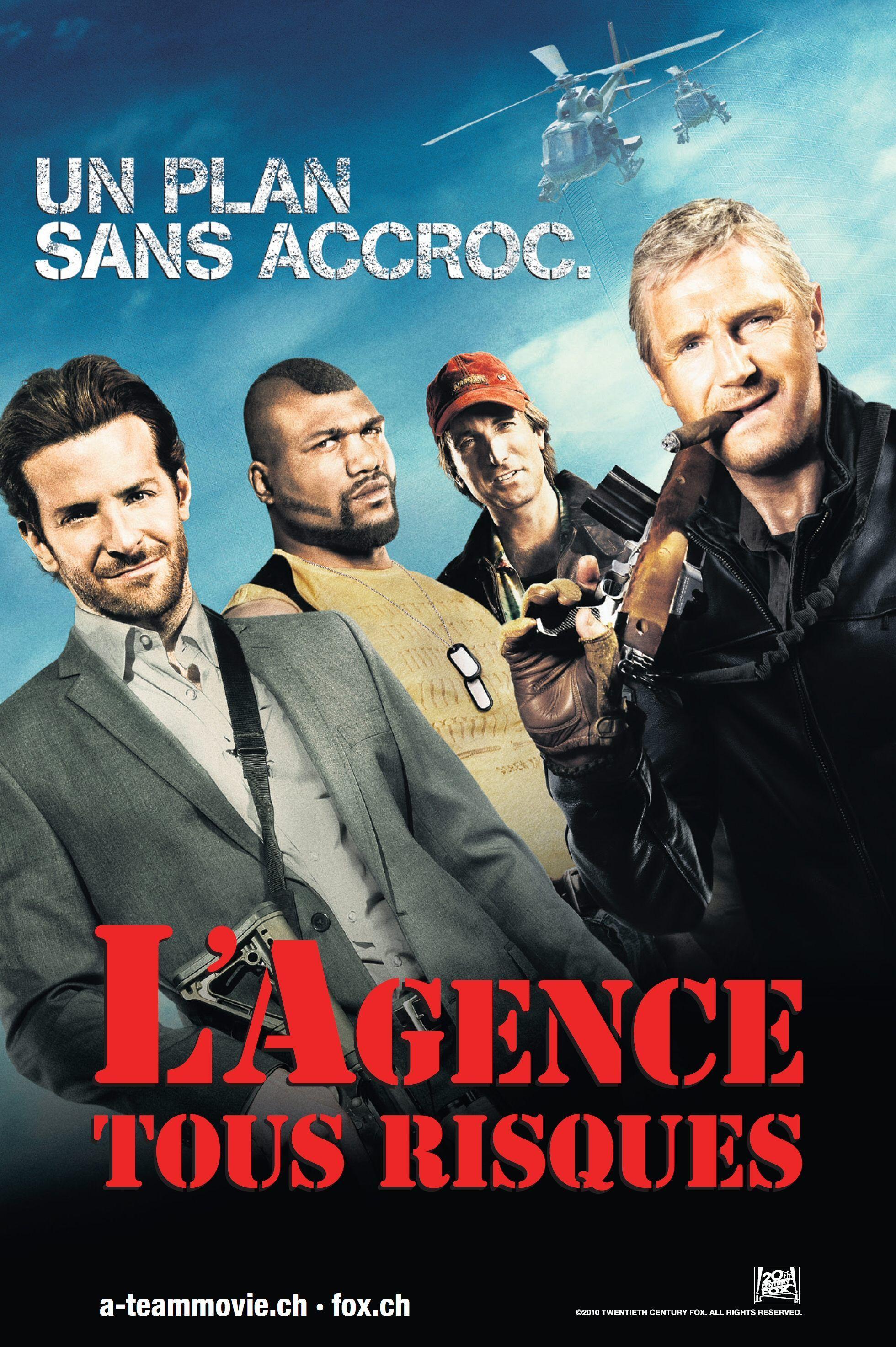 Affiche 05 De L Agence Tous Risques Suisse Affiche Film Film Agence Tous Risques