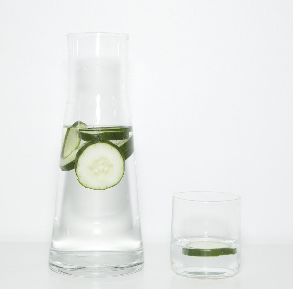 Borasilicate Glass Carafe and Glass \