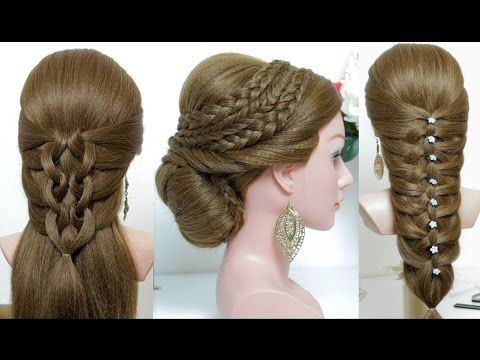 Top 5 amazing hairstyles tutorials compilation 2017 youtube 3 easy hairstyles for long hair tutorial urmus Image collections