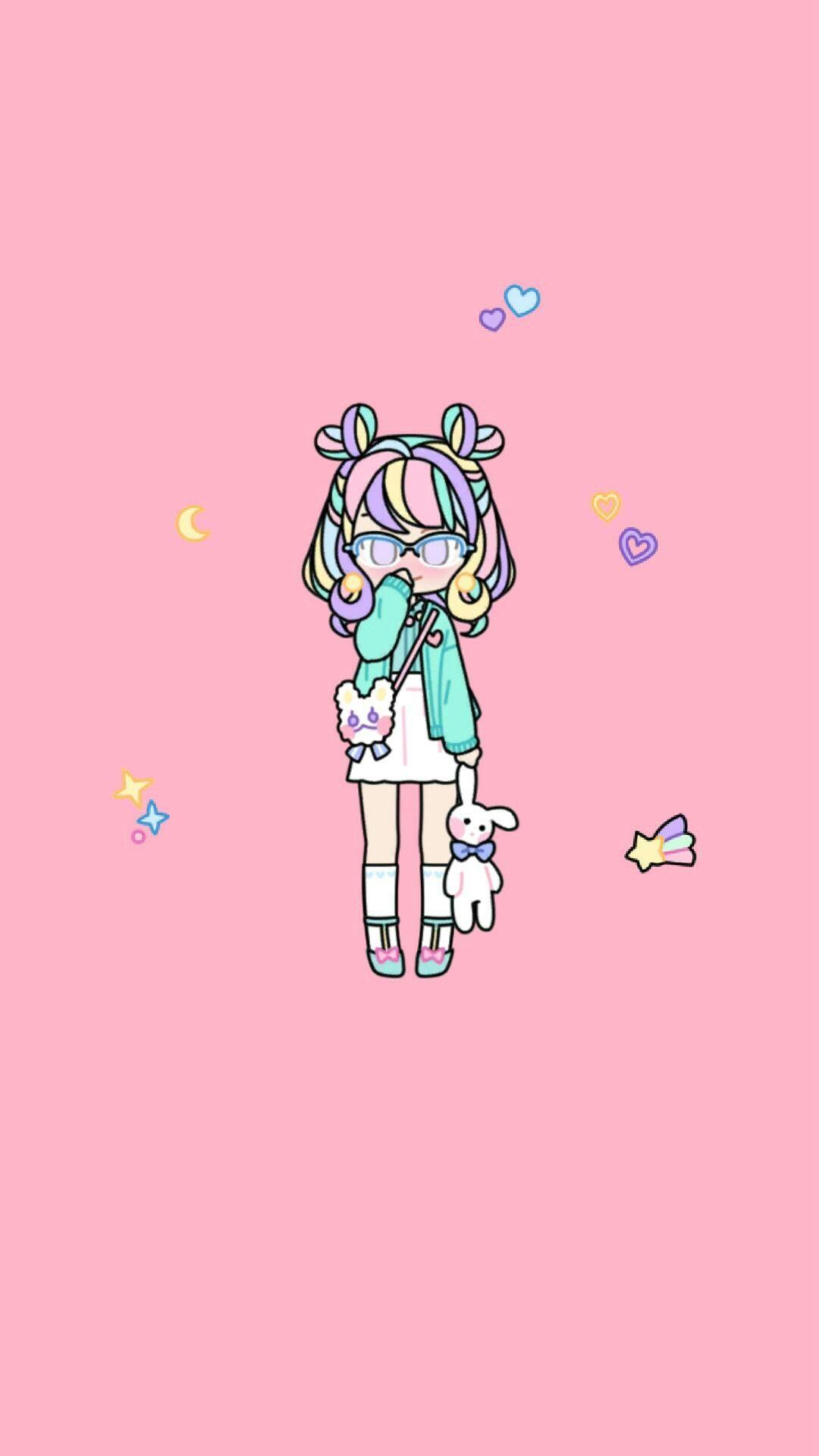 Cute App Pastel Girl Cute Pastel Wallpaper Cute App Girl Wallpaper
