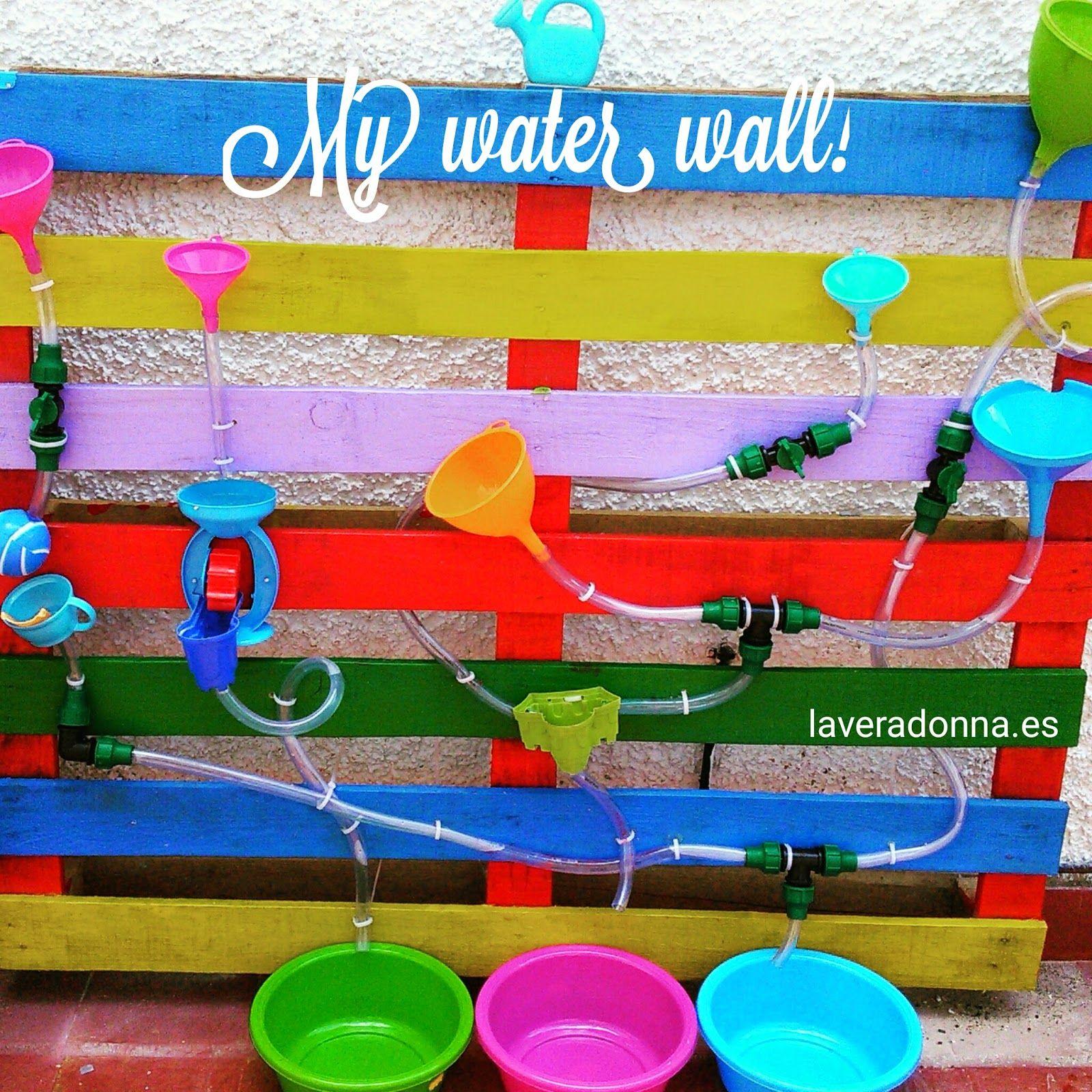 Circuito Juegos Para Niños : Pequefelicidad cÓmo fabricar una pared de agua para niÑos