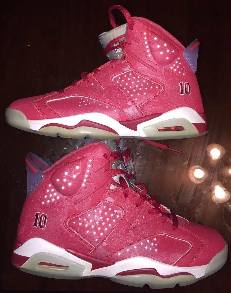 82977f6c8560 Air Jordan 6 Retro X Slam Dunk Size 8.5 varsity Red  Jordan  BasketballShoes