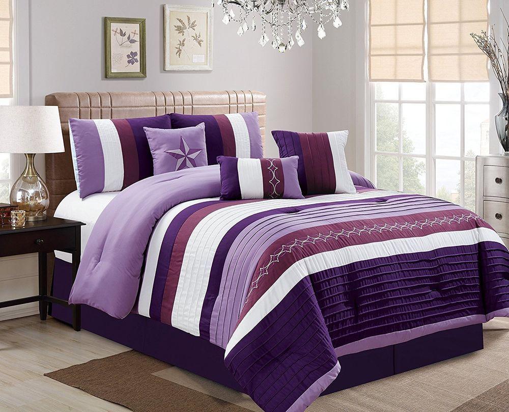 JBFF 7 Piece Oversize Luxury Microfiber Bed in Bag