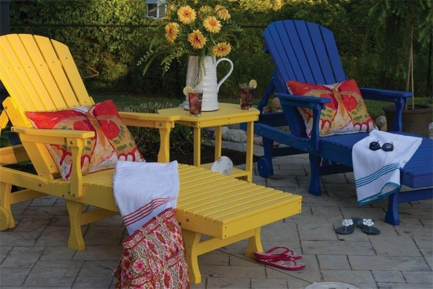 Exceptional Chill Out Poolside With An American Made Chaise Lounge. Great Colors!  Posted Via Www