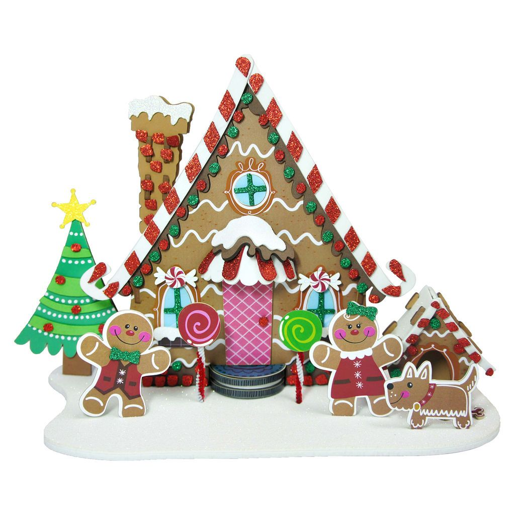 Purchase the Gingerbread House 3D Structure Kit By