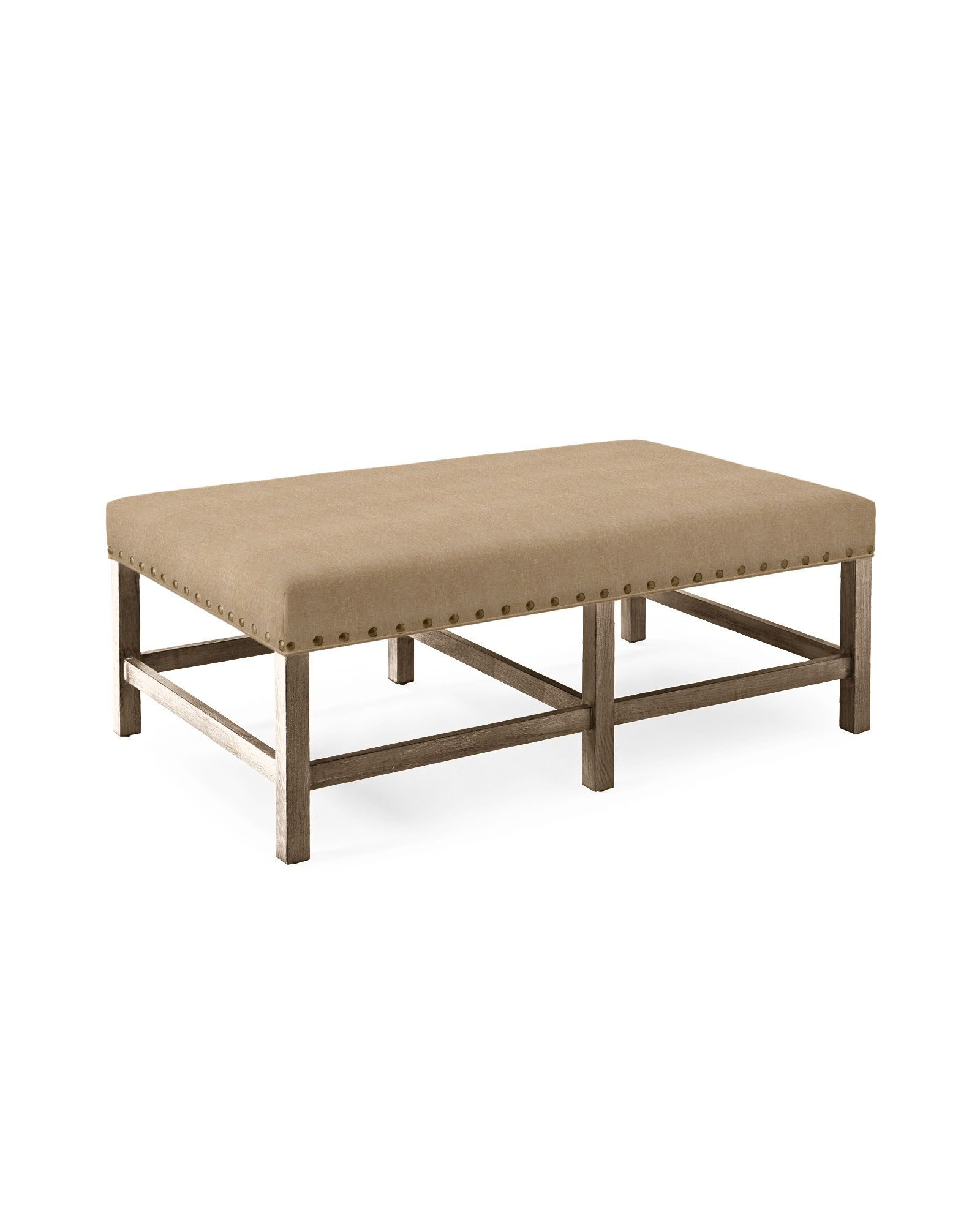 Serena Lily Clement Coffee Table Ottoman In 2019 Milan S House