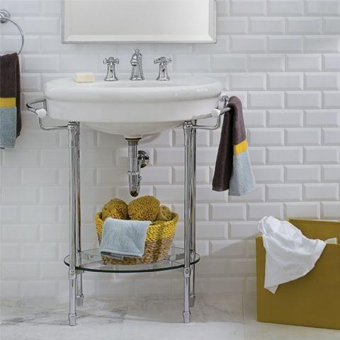 Standard Collection 32 Inch Console Sink American Bathroom Vanities Washstands