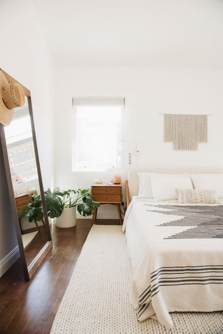 Awesome Simple Minimalist Bohemian Bedroom Inspirations On A