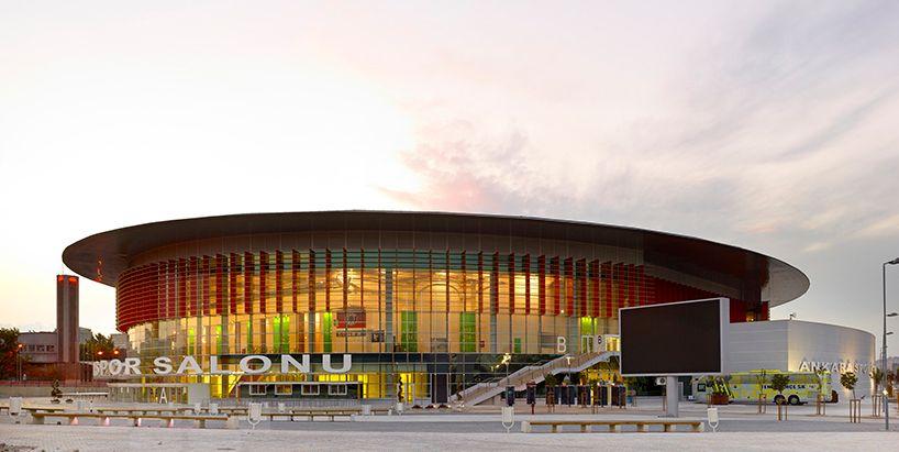 Yazgan Design Architecture Connects Ankara Arena Sports Hall With City Sport Hall Architecture Design Architecture
