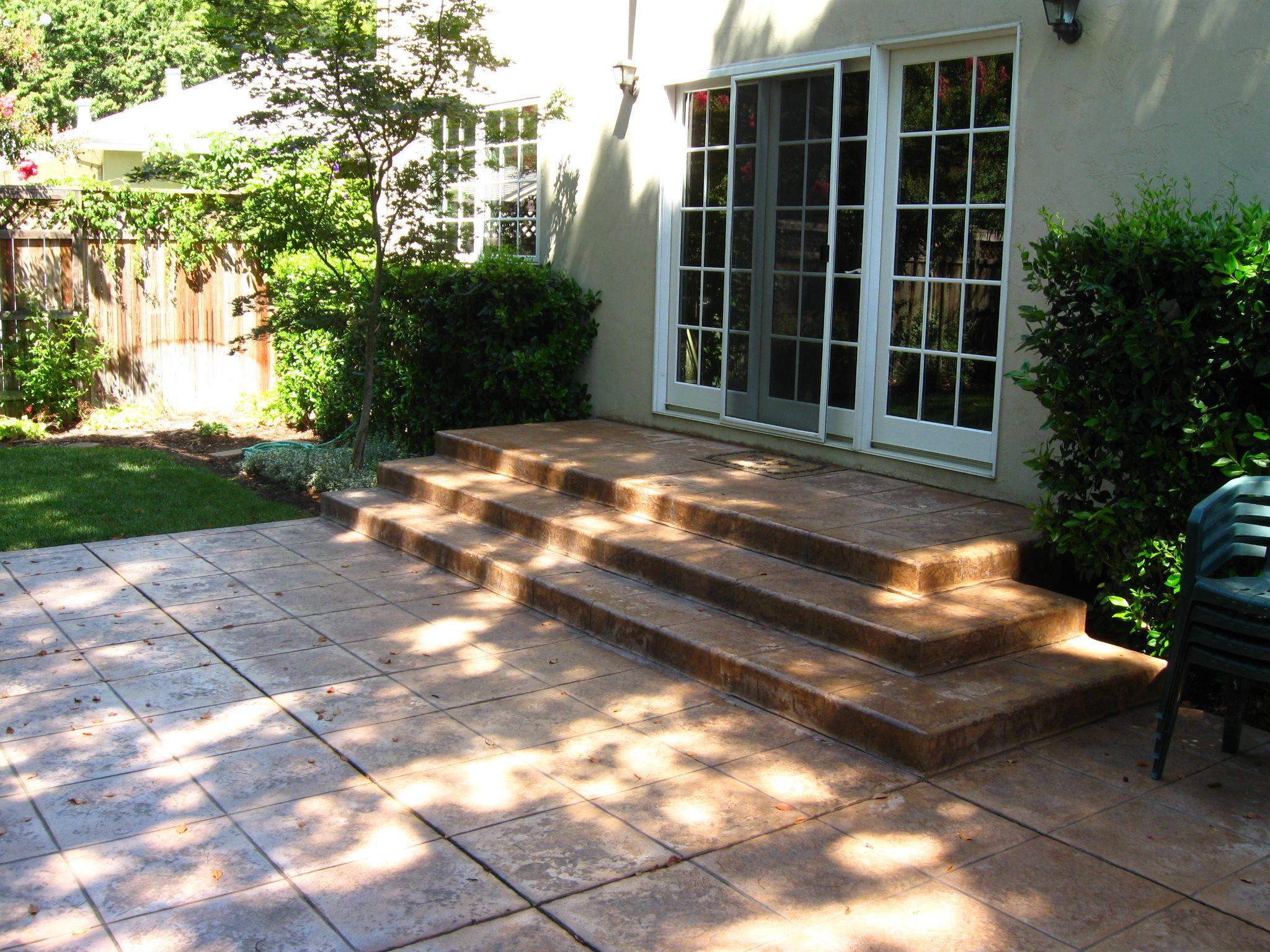 Poured Concrete Patio Design Ideas Hear What Our Clients
