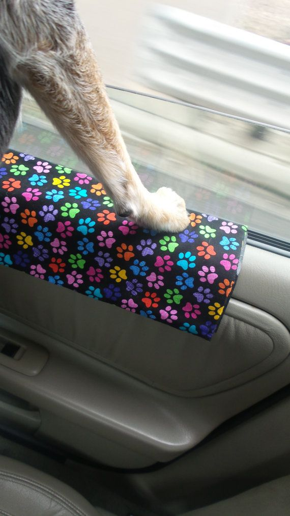Dog Travel/ Car Door Protector from dog by RideAlongPaws ...