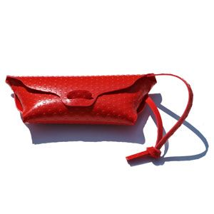 Borsa Bag Pois Red by 3AG
