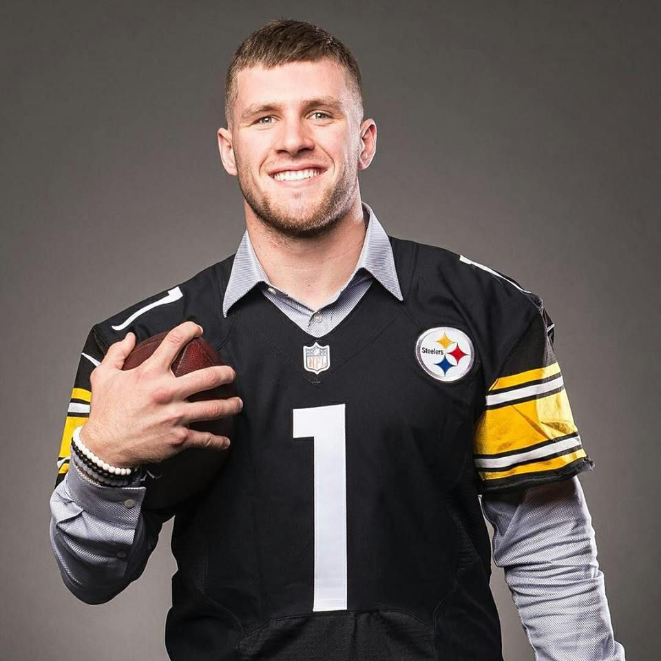 new arrival cc515 6fe1c One of the new Steelers, TJ Watt (JJ Watt's brother ...