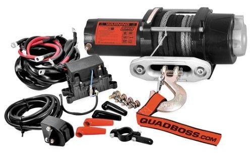 KFI U4500W 4500lb Winch Kit ATV//UTV Steel Wire Rope Cable