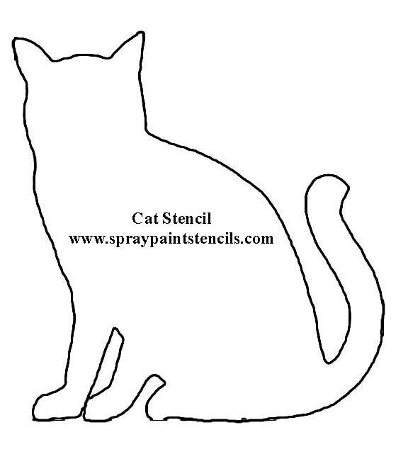 Pin Von Jenny S Auf Create Art Kostenlose Schablonen Katze Applikation Katzen Quilt