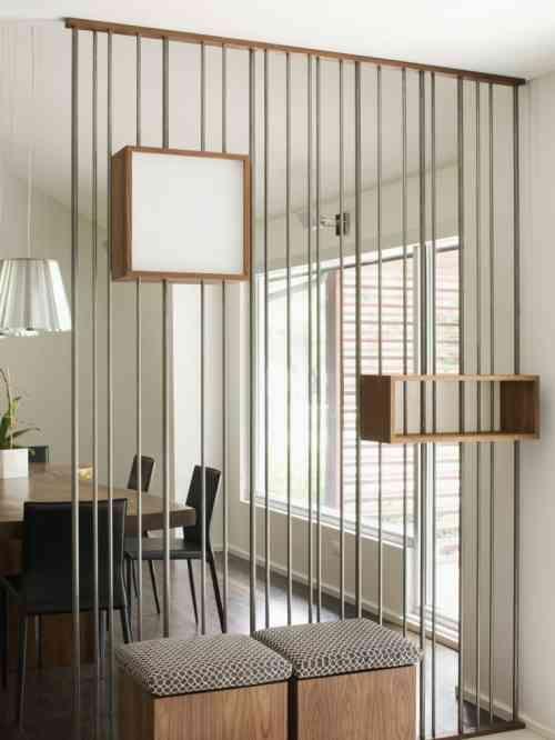 Séparation pièce : 25 idées pour organiser l\'espace intérieur | Salons