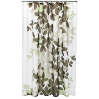 Apt. 9 Zen Leaf Fabric Shower Curtain KOHLS