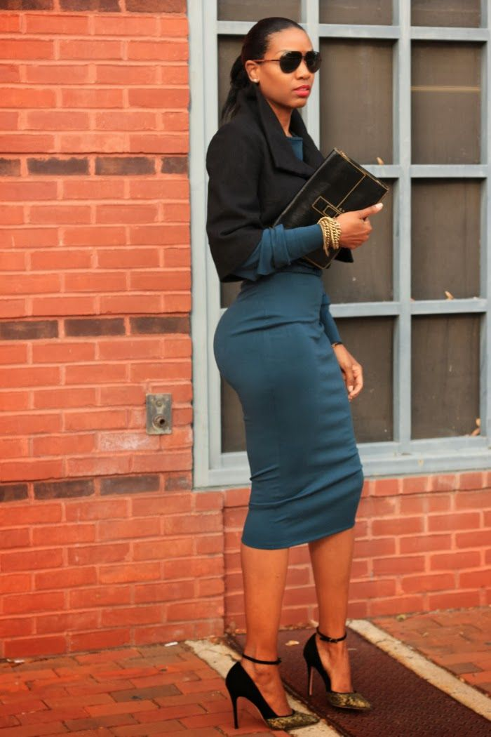 Beaute' J'adore: DIY High Waisted Midi Pencil Skirt | clothing ...