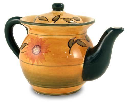 Country Sunflower Teapot Ack Http Www Amazon Com Dp B002gotgee Ref Cm Sw R Pi Dp Akuusb1w0p5k3wym 16 Tea Pots Sunflower Kitchen Tea Pot Set