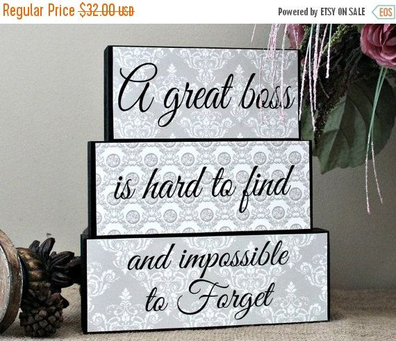 Gift for Boss, Boss Leaving Gift, A Great Boss is Hard to Find And Impossible To Forget, Boss Day Gift, Boss Quote, Boss Birthday Gift