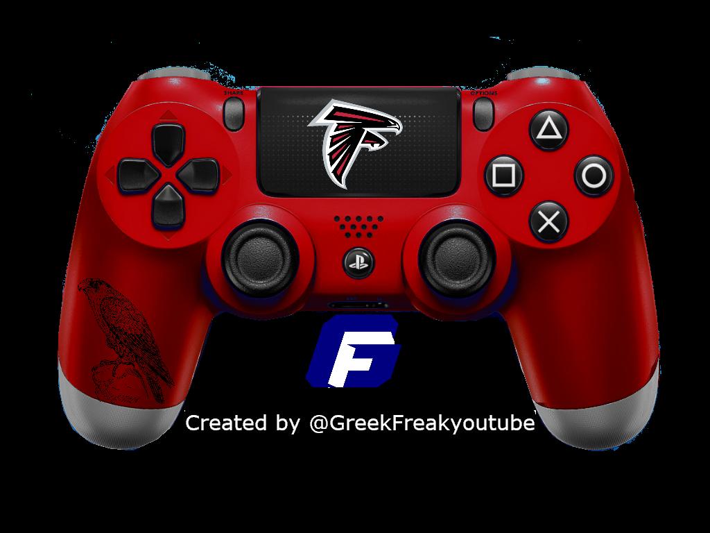 Check Out All My Nfl Ps4 Controller Concept Atlanta Falcons Design Atlantafalcons Playstation Nfl Falcons Atlanta At Nfl Ps4 Controller Gaming Products