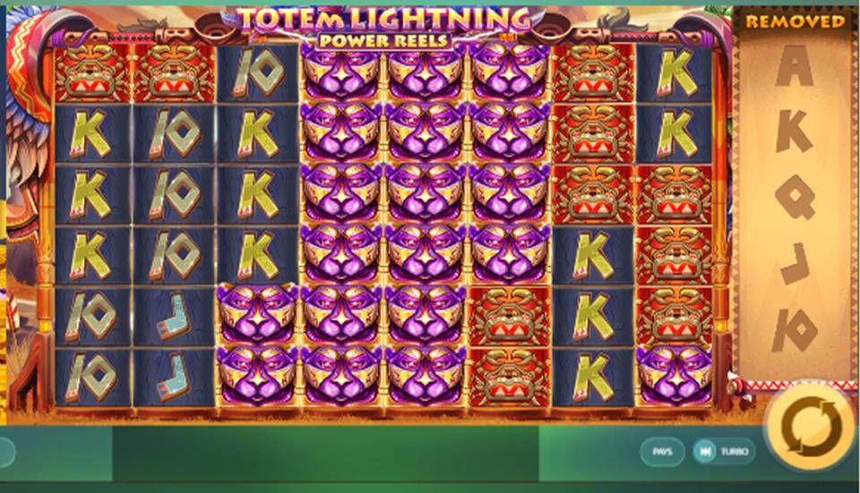 Totem Lightning Slot Machine