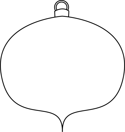 In this post we have provide the latest collections of Christmas Ornaments  Clipart Black And White. Christmas is a great - In This Post We Have Provide The Latest Collections Of Christmas