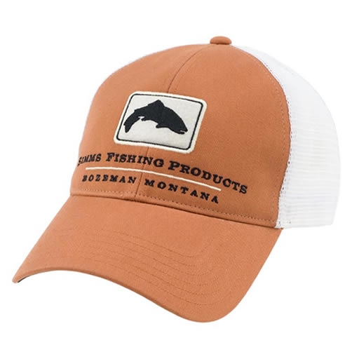 one popular caps the trout trucker cap fishing products simms baseball hat