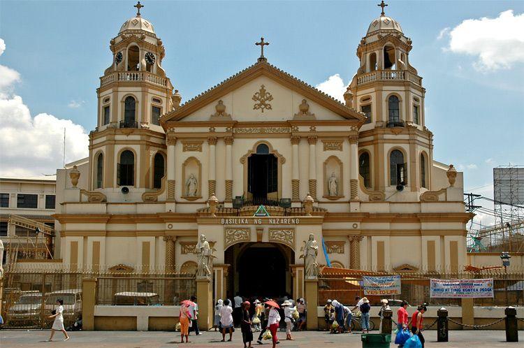 Resulta ng larawan para sa quiapo church