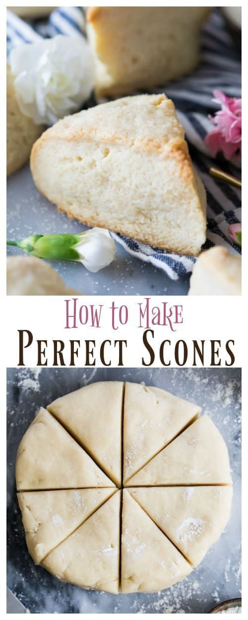 is it, the BEST Scone Recipe! Light, tender, flaky scones and these are SO easy to make! via @sugarspunrun