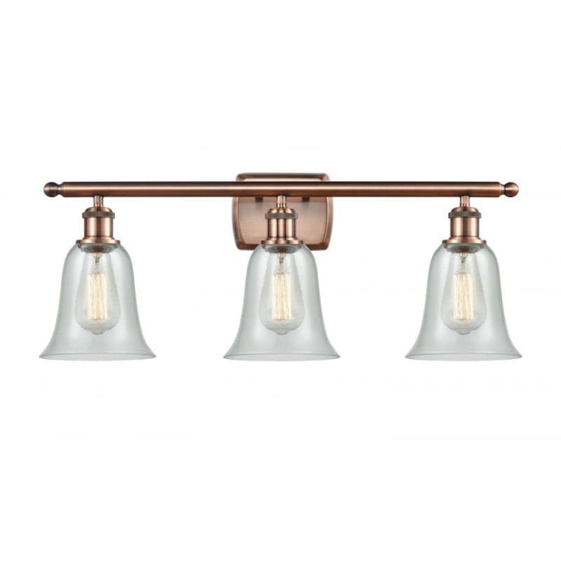 Photo of Innovations Lighting 516-3W Hanover Hanover 3 Light 26″ Wide Bathroom Vanity Lig Antique Copper / Fishnet Indoor Lighting Bathroom Fixtures Vanity