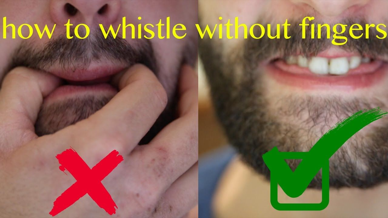 How to whistle loudly 45