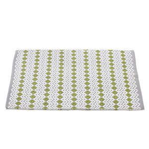 Wave Rug 2x3 Gray White, $63, now featured on Fab.