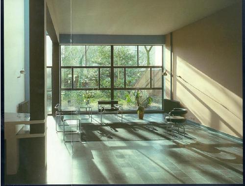 Interieur \'Maison Guiette\' (Le Corbusier). Huidige Woning Ann ...