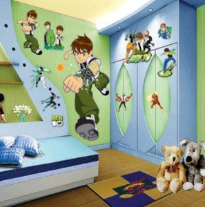 Ben 10 Wall Stickers -Boys - Childrens - Bedroom - Wall ...