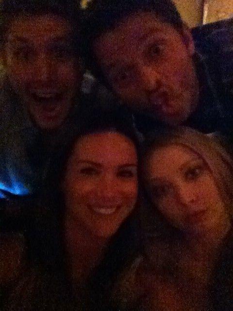 Danneel, Jensen, Elisabeth, and Misha | J2 and M2 ...