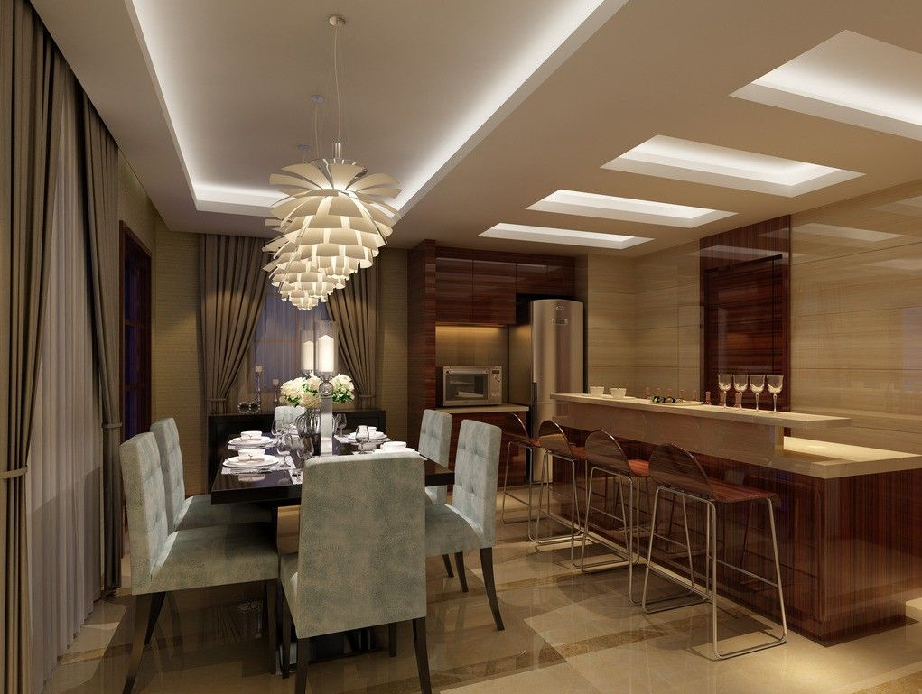 Small Dining Room And Kitchen Design Rendering Dining Room Design Luxury Dining Room Contemporary Dining Room Design