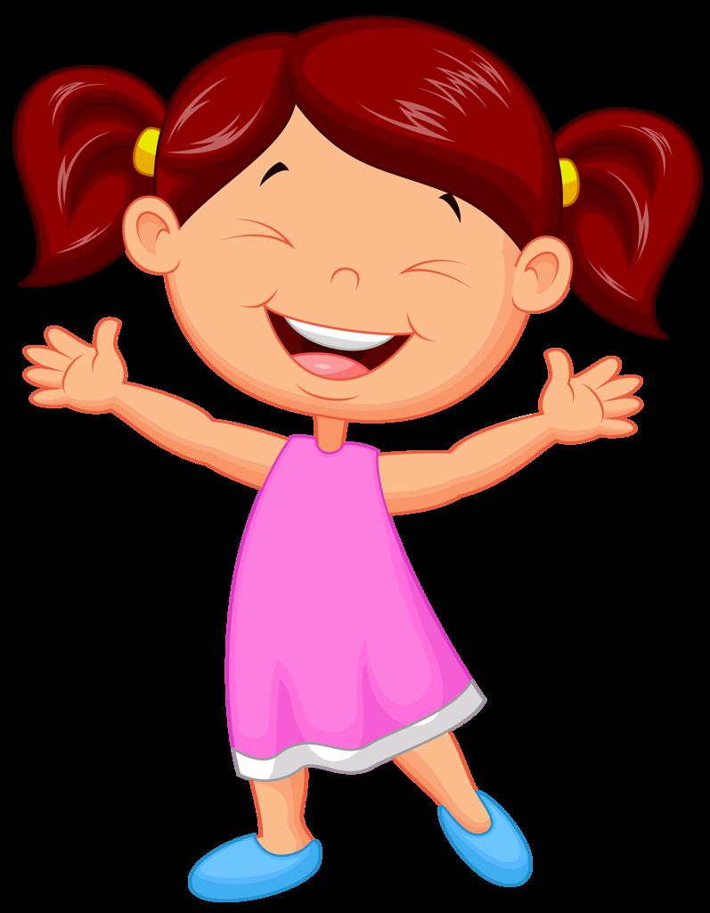 Довольная девочка картинки для детей