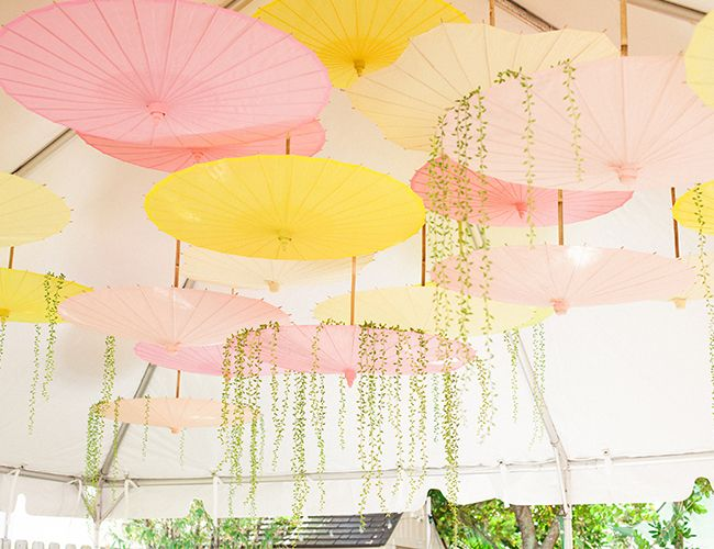 Pink And Yellow Garden Baby Shower Baby Shower Garden Baby