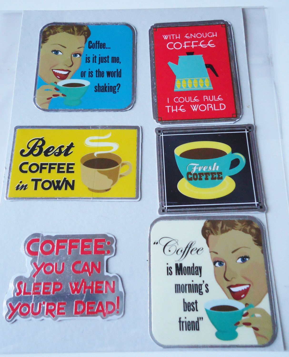 Vintage Coffee Signs Funny