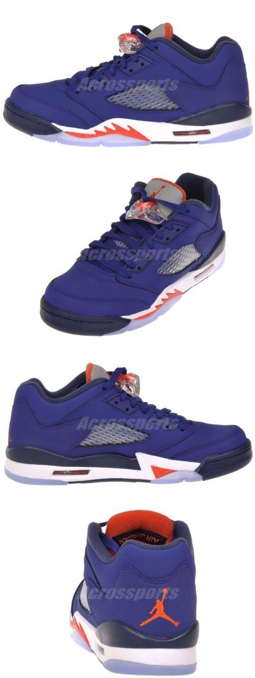 2ab16559bf43 Youth 158973  Nike Air Jordan 5 Retro Low Gs Kids Youth Boys Girls  Basketball Shoes