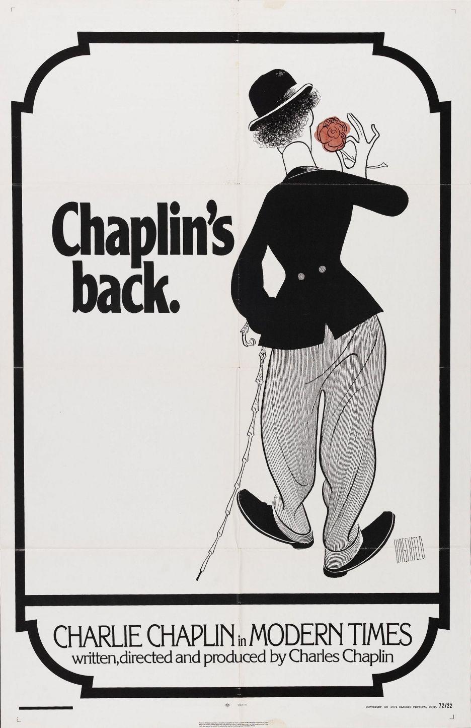 modern Charlie chaplin modern times, Charlie chaplin