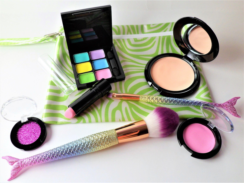 Pretend Play Makeup  Kids Makeup Kit  Mermaid Makeup