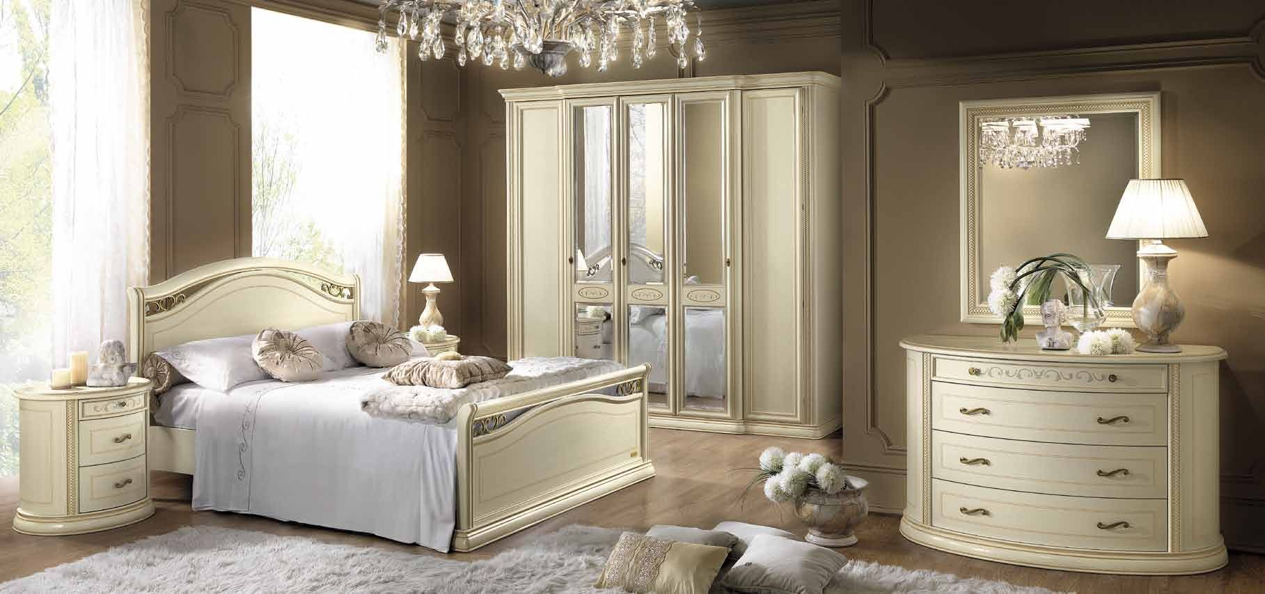 Siena italian bedroom furniture in ivory italian bedroom furniture pinterest italian - Italian furniture for small spaces ...