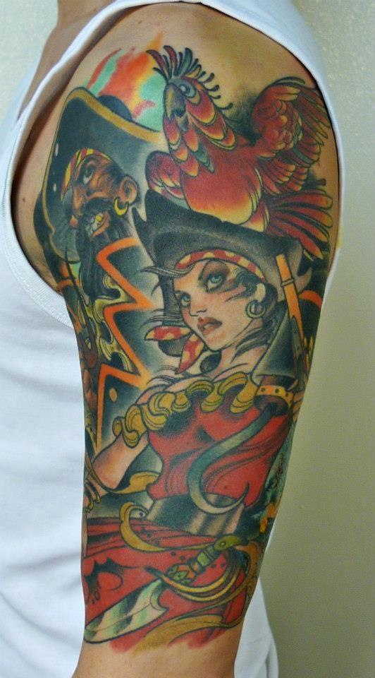 Arm by Carlos Hierro Nin www.facebook.com/original.tattoo.luebeck ...