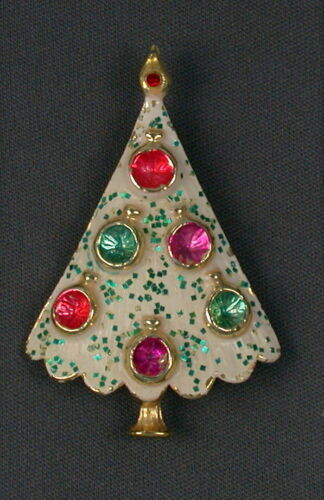 When Does Bjs Get Their Christmas Decorations 2020 Vintage B.J. Beatrix Christmas Tree Brooch Pin in 2020 | Jewelry