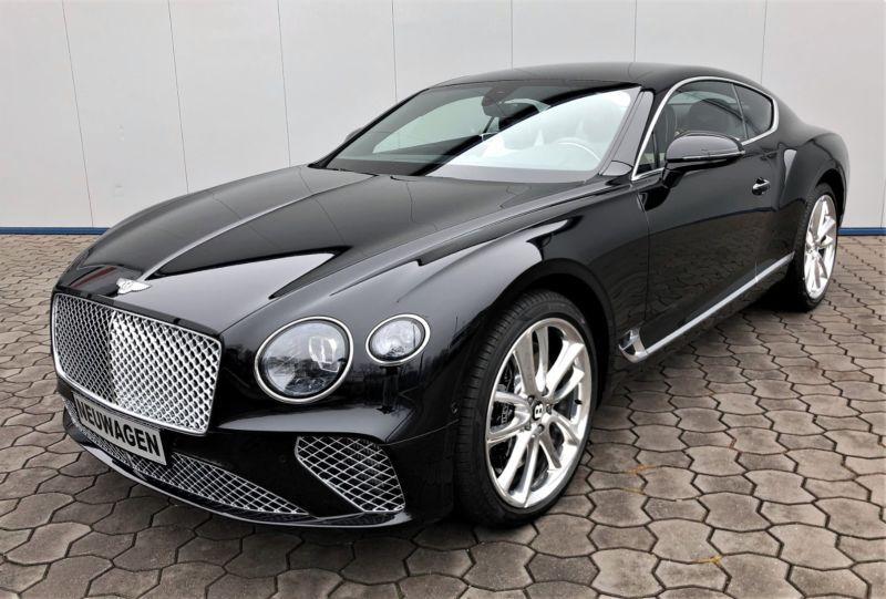 New Bentley Continental Gt 2018 Black With Images Bentley