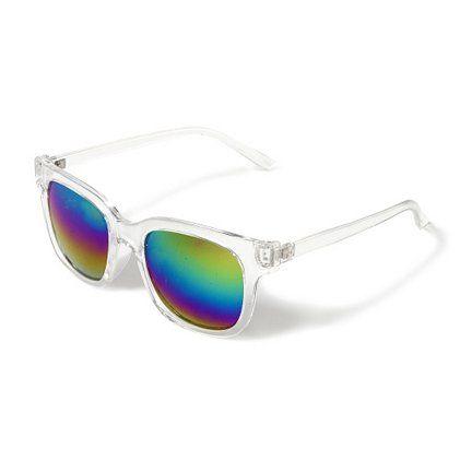Rainbow Lens Sunglasses | Claires