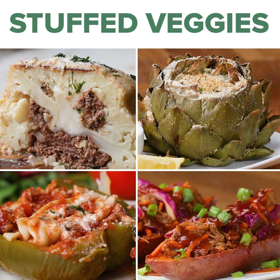 6 Delicious Stuffed Vegetables